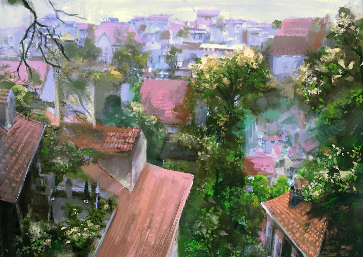 屋顶花园 2